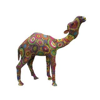 Handmade Textile Camel Figure