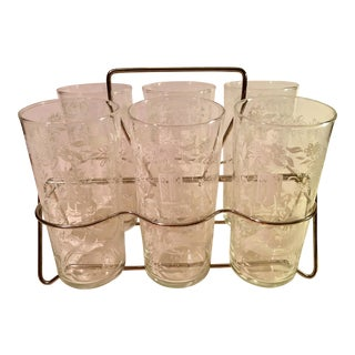 Sillouette Mid-Century Glasses - Set of 6