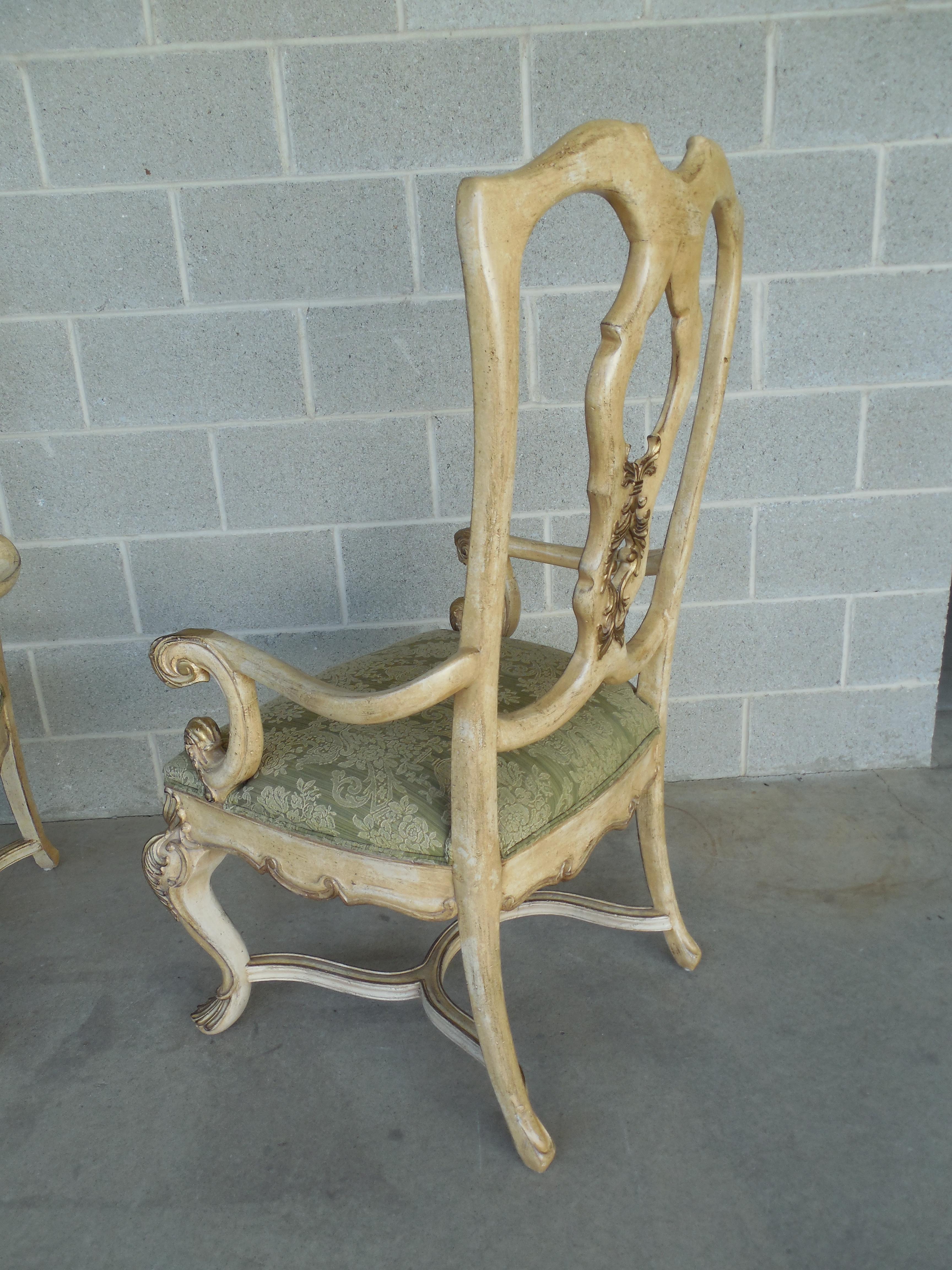 Ferguson Copeland Venetian Arm Chairs   Pair   Image 4 Of 8