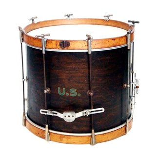 1930'S U.S. Military Rod Drum