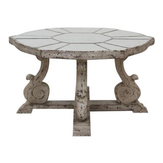 French Style Mirrored Coffee Table