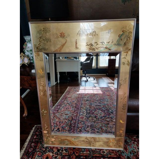 LaBarge Mirror Eglomise Mirror - Image 2 of 8
