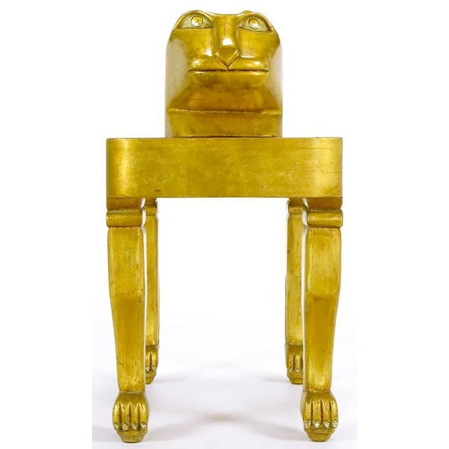 Carved and Giltwood Jaguar Table by Diseno Caaesa - Image 5 of 9
