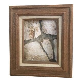 Neutral Linen & Wood Frame