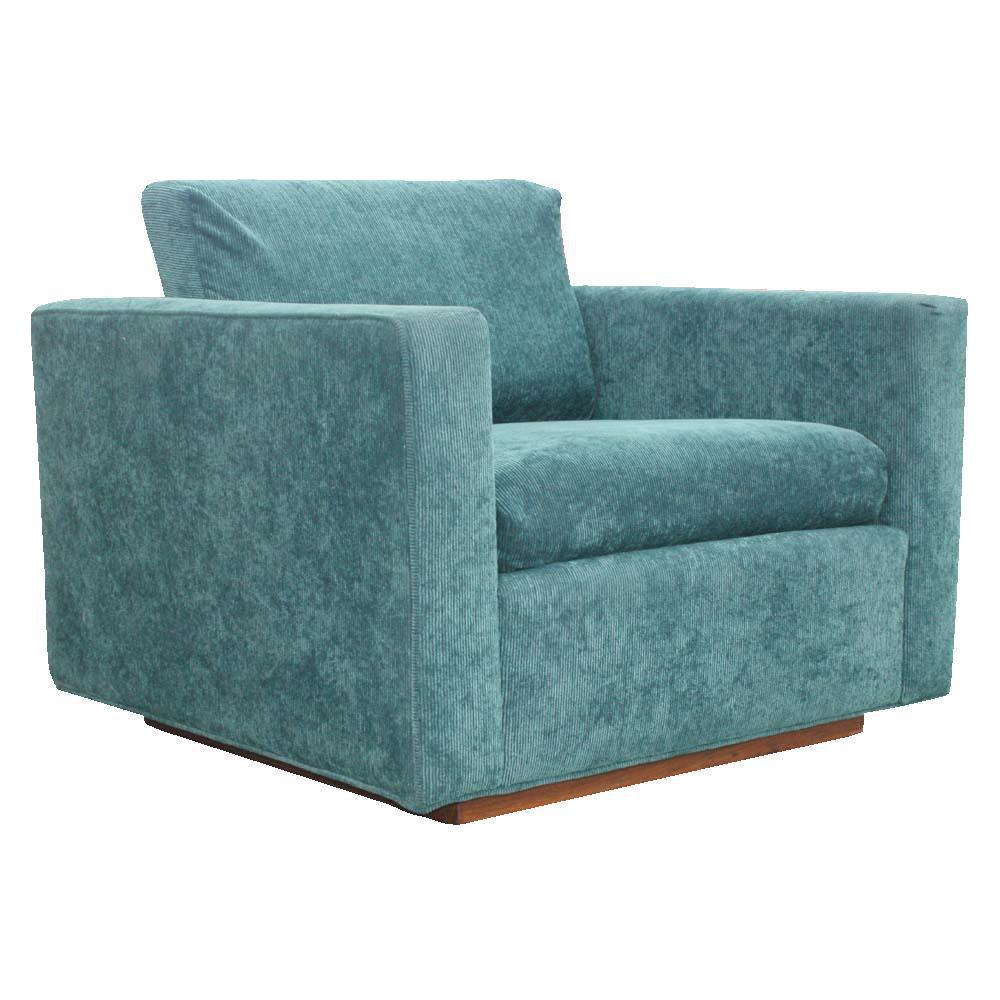 Vintage Knoll Pfister Style Lounge Club Arm Chair