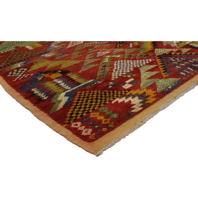 Vintage Berber Moroccan Rug -- 5'4 x 8'2 - Image 2 of 4