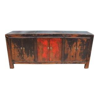 Vintage Rustic Painted Buffet
