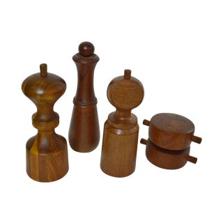 Jens Quistgaard for Dansk Pepper Mills - Set of 4