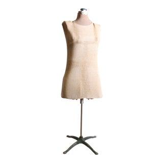 Vintage Adjustable Female Dress Form with Stand