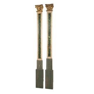 Two Italian Pilasters / Columns