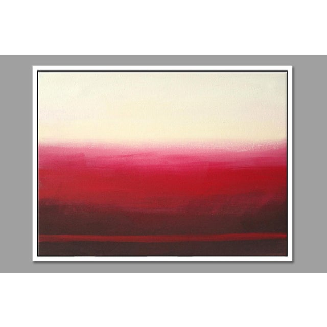 "Image of ""Ron Burgundy No. 4"" Framed Fine Art Giclée Print"