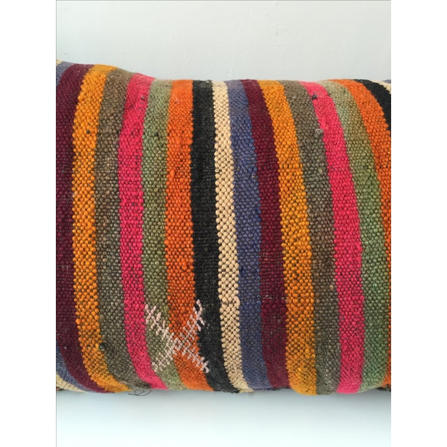 Dhurrie Lumbar Pillow - Image 5 of 8