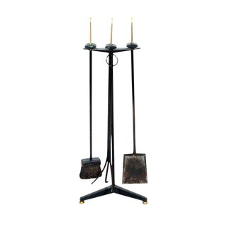 Donald Deskey Fireplace Tool Set