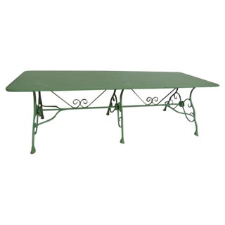 Vintage Arras Factory Garden Table