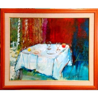 Mary Asher-Trautmann Tabletop Still Life Oil Painting