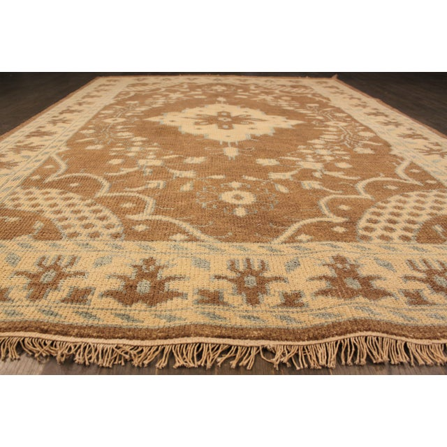 "Apadana Kerman Rug - 6'0"" X 8'10"" - Image 4 of 4"