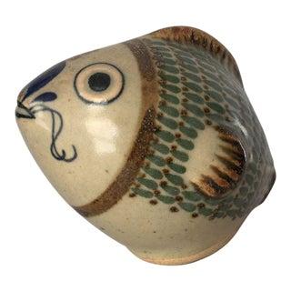Vintage Fish Pottery Figurine