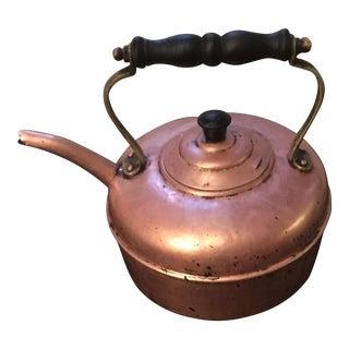 Vintage Copper English Tea Kettle