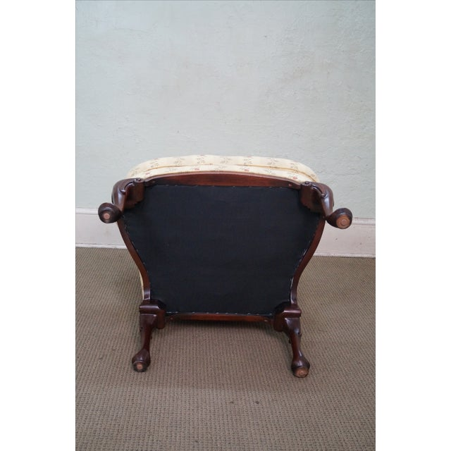 Queen Anne Style 18th Century Wing Chair - Image 9 of 10