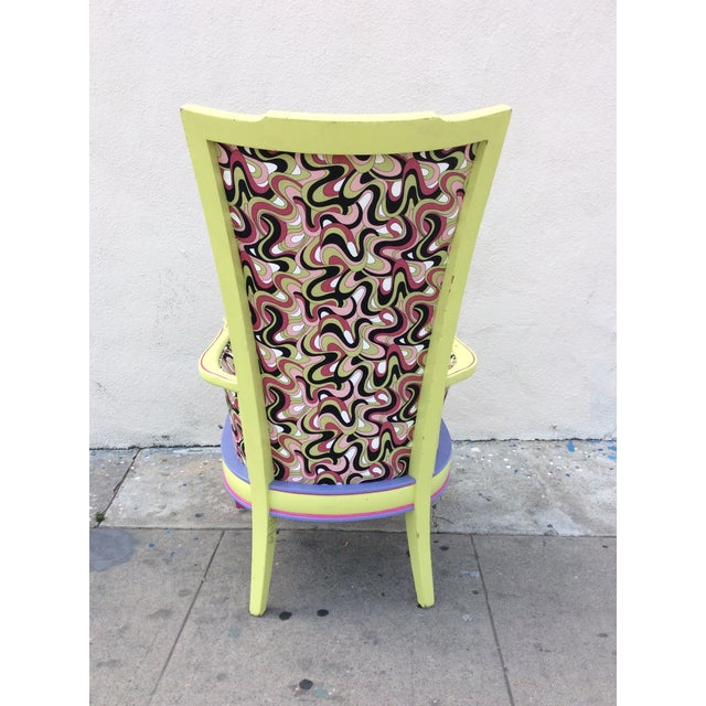 Multicolor High Back Chair - Image 5 of 7