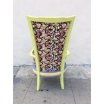 Image of Multicolor High Back Chair