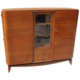 French Art Deco Mahogany Cabinet