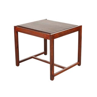 Danish Reversible End Table / Ottoman