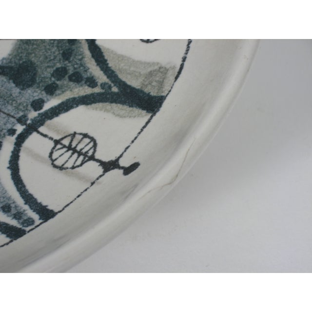 Image of Delft Mid-Century Pottery Dish