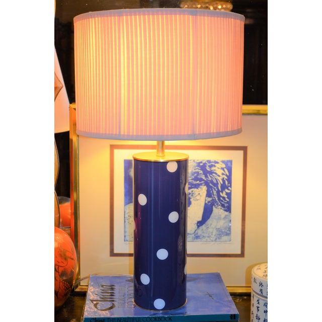 Kate Spade Blue Dot Table Lamp - Image 5 of 6