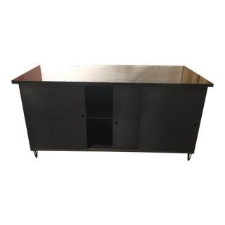 Custom Granite-Top Aluminum Cabinet