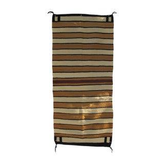 Striped Navajo Rug - 2′6″ × 5′6″