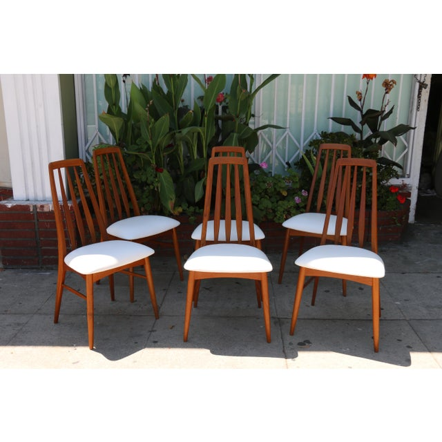 Set of 6 Koefoeds Hornslet Dining Chairs - Image 6 of 11
