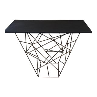 Modern Metal Console Table