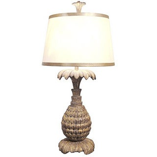 Candace Barnes Gold Pineapple Lamp