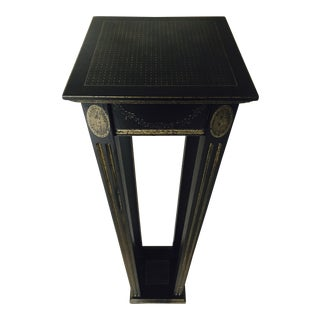 Black Neonclassical Stand