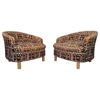 Edward Wormley Style Chairs by Selig