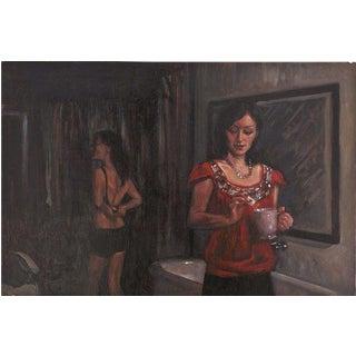 Delia Brown Oil Painting, 2011