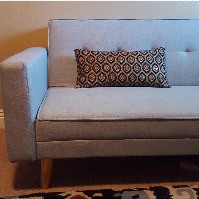 Modern Graphic Pillows : Modern Graphic Print Lumbar Pillow Chairish