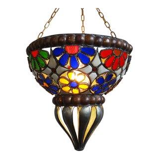 Vintage Moroccan Glass Lantern