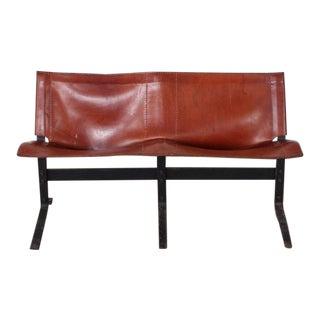 Leather Bench by Max Gottschalk