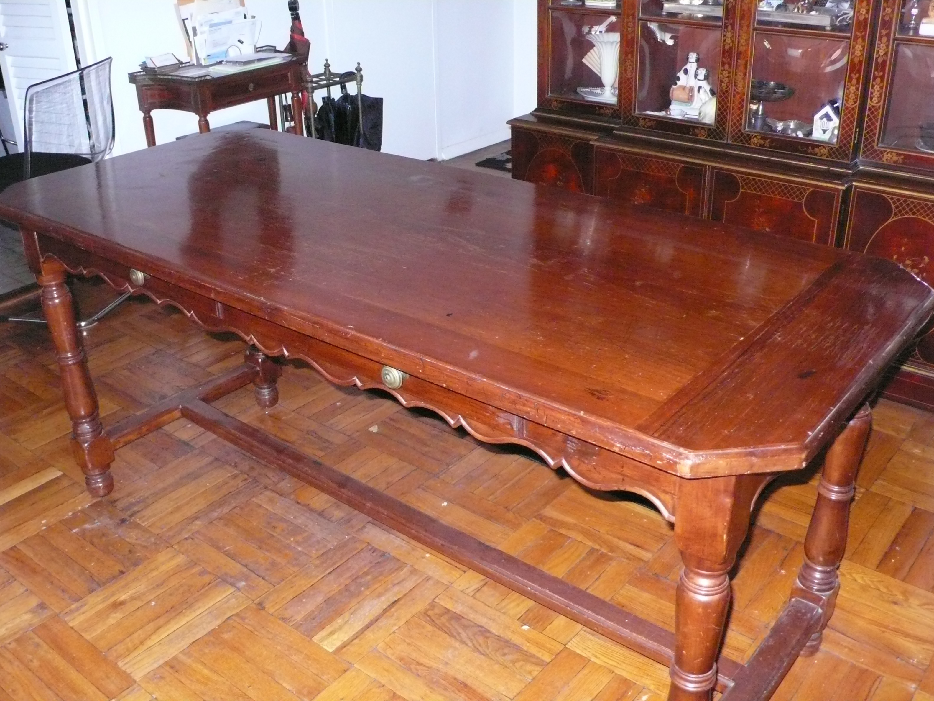 French Provincial Italian LibraryDining Table Chairish : 077e73cc 936c 4d88 8a75 5b46bf9af03easpectfitampwidth640ampheight640 from www.chairish.com size 640 x 640 jpeg 59kB