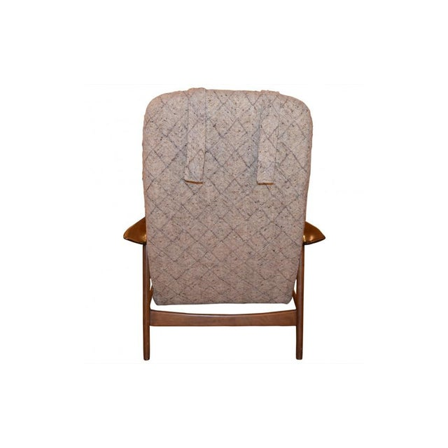 Folke Ohlsson Mid-Century Chair & Ottoman - Image 5 of 7
