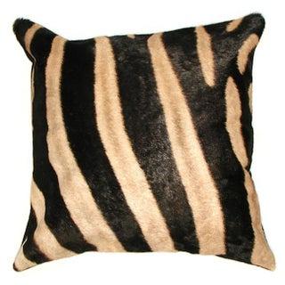 Zebra Skin Pillow