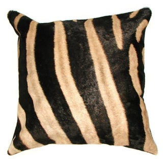 Zebra Skin Pillow