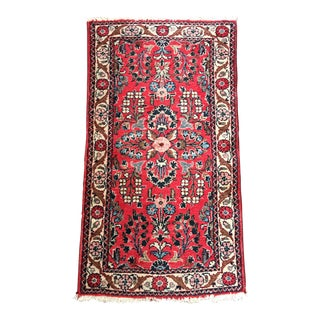 Vintage Avakian Brothers Hand Knotted Persian Dergazine Area Rug