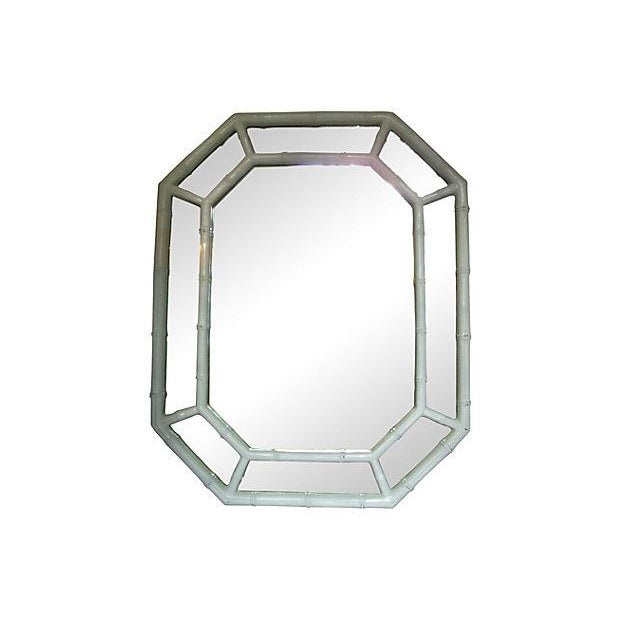 Image of Bamboo Octagonal Mirror