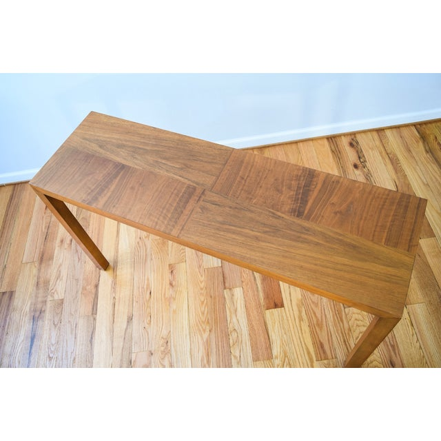 Image of Mid-Century Vintage Lane Sofa Console Table