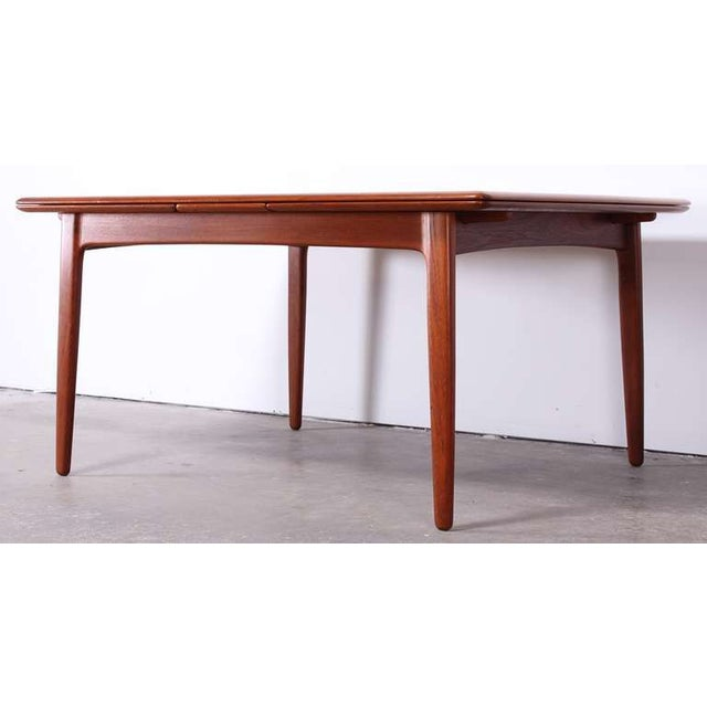 moller svend madsen danish modern dining table chairish