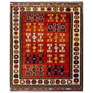 Early 20th Century Ersin Kilim Rug