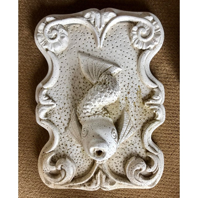 Cast Stone Fish Fountain - Image 2 of 3